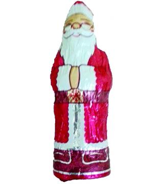 Babbo Natale 130 grammi di cioccolato a latte scatolo  da 10 pezzi