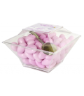 Teneroni cristal Box nut rosa
