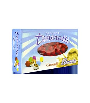 Perline ai cereali rosso